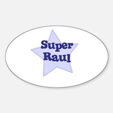 Super Raul Oval Decal