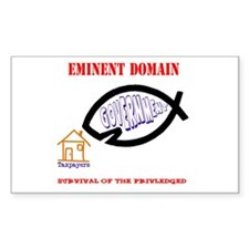 Eminent Domain: Evolution Rectangle Decal