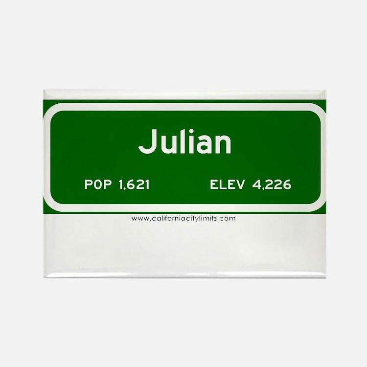 Julian Rectangle Magnet