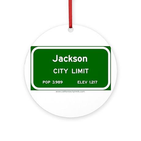 Jackson Ornament (Round)