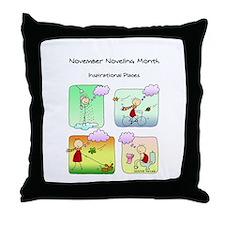 Nano day Throw Pillow