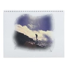 Lone Hiker Wall Calendar