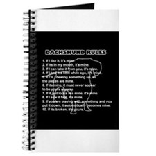Dachshund Rules Journal