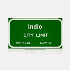 Indio Rectangle Magnet