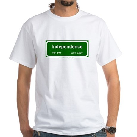 Independence White T-Shirt