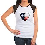 Austin Heart Women's Cap Sleeve T-Shirt