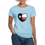 Austin Heart Women's Light T-Shirt