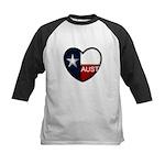 Austin Heart Kids Baseball Jersey