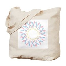 CDH Awareness Ribbon Wreath Tote Bag
