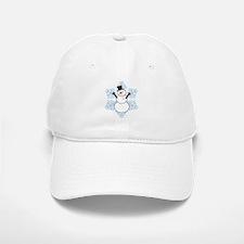 CDH Awareness Ribbon Snowman Baseball Baseball Cap