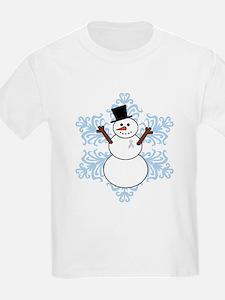 CDH Awareness Ribbon Snowman T-Shirt