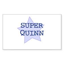 Super Quinn Rectangle Decal