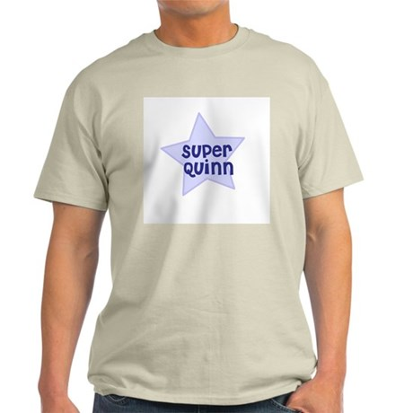 Super Quinn Ash Grey T-Shirt