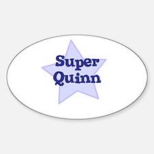 Super Quinn Oval Decal