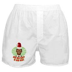 Ho Ho Ho? Obama No No No! Boxer Shorts