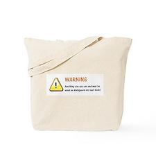 Writer's Life Tote Bag