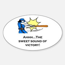 Victory Oval Decal
