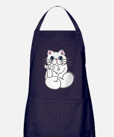 Longhair ASL Kitty Apron (dark)