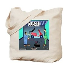 CLEAR! (Scooter) Tote Bag