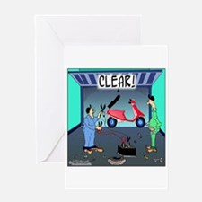 CLEAR! (Scooter) Greeting Card