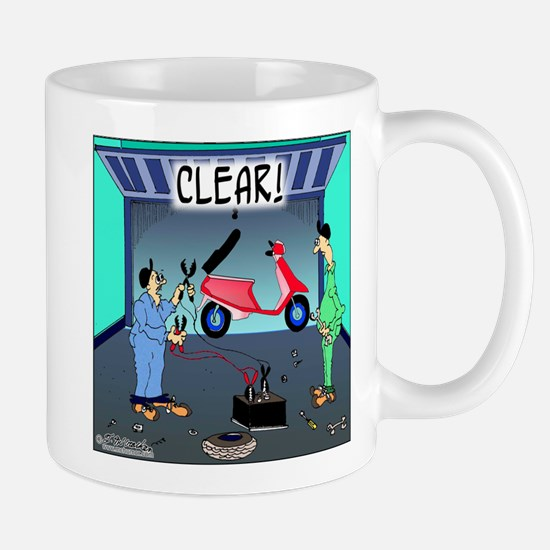 CLEAR! (Scooter) Mug