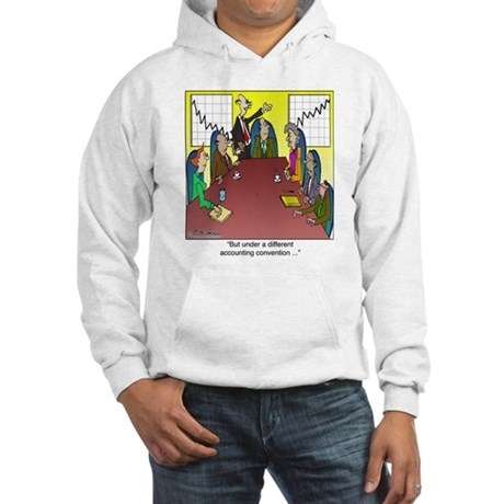 Under a Different Accounting Convention Hooded Swe