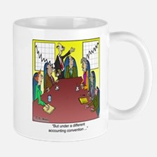 Under a Different Accounting Convention Mug