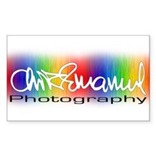 Chris Emanuel Photography Rectangle Decal