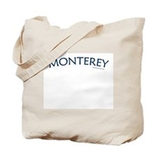 Monterey (Navy) - Tote Bag