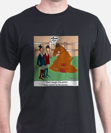 Don't Laugh at Yoga for Horses T-Shirt