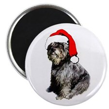 Bouvier Christmas Magnet