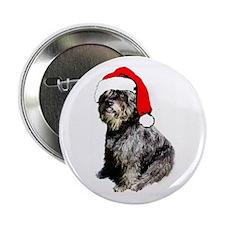 Bouvier Christmas Button