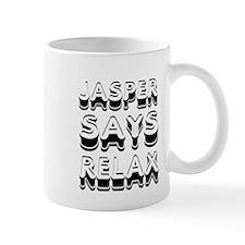 Jasper Says Relax Twilight Mug