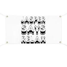 Jasper Says Relax Twilight Banner