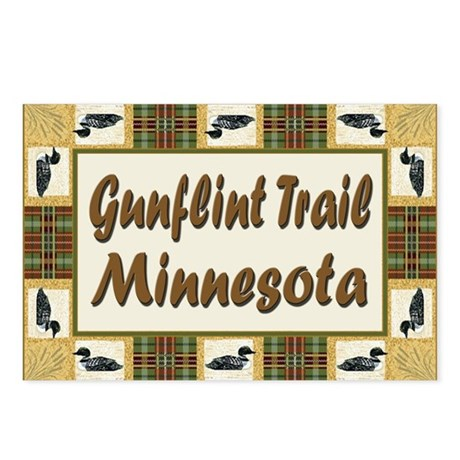 Gunflint Trail Minnesota Loon Postcards (Package o