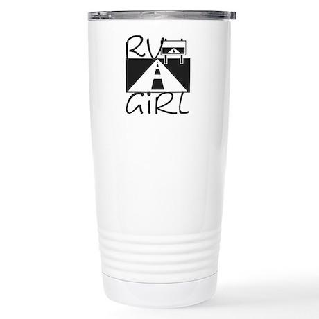 RV Girl Stainless Steel Travel Mug