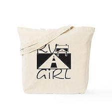 RV Girl Tote Bag