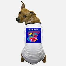 Chanukah Spinning Dreidles Dog T-Shirt