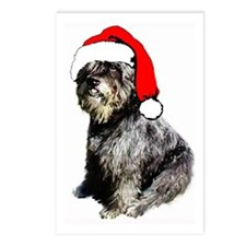 Bouvier des Flandres Christma Postcards (Package o