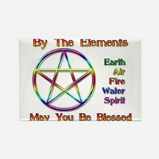 Elemental Blessing Rectangle Magnet