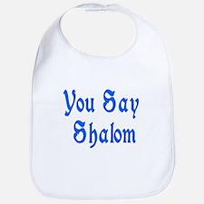 Say Shalom Jewish Bib