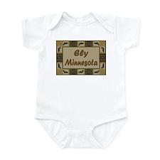 Ely Minnesota Loon Infant Bodysuit