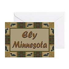 Ely Minnesota Loon Greeting Card