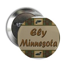 "Ely Minnesota Loon 2.25"" Button (100 pack)"