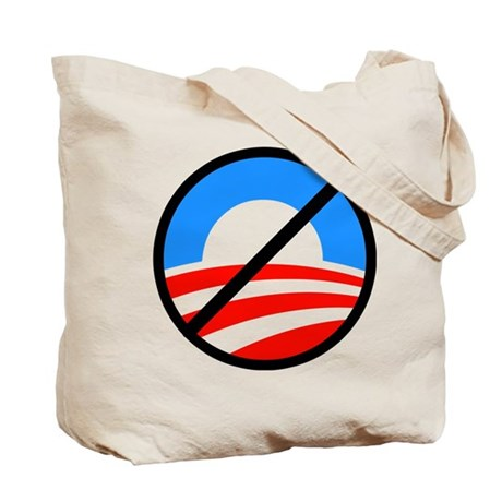 Nobama (front and back) Tote Bag