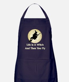 Classic Witch Saying Apron (dark)