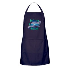 Embrace Your Inner Weasel Apron (dark)