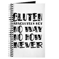 Gluten No Way Journal