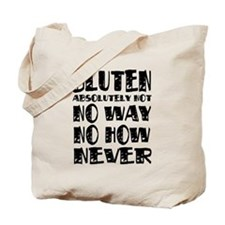 Gluten No Way Tote Bag