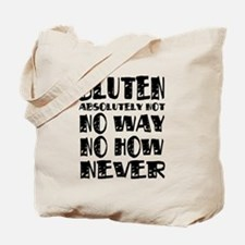 Gluten No Way Tote Bag